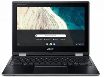 Laptop 2in1 Acer Chromebook Spin 511 R752TN Intel Celeron N4020 32GB eMMC 4GB HD Touch Chrome OS Black Laptop laptopuri
