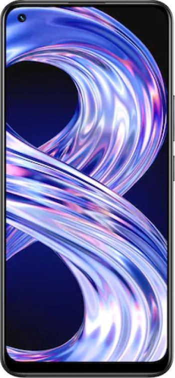 Telefon mobil Realme 8 128GB Dual SIM 4G Cyber Black Telefoane Mobile