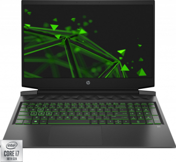 Laptop Gaming HP Pavilion 16-A0036NQ Intel Core (10th gen) i7-10750H 1TB+256GB SSD 16GB GTX 1650TI 4GB FullHD T.Ilum. Shadow Black Laptop laptopuri