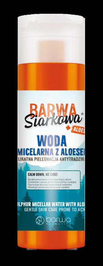 Apa micelara cu sulf antibacterian si Aloe Vera Barwa 200 ml Masti, exfoliant, tonice