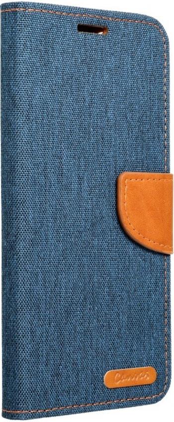 Husa Flip Cover Upzz Canvas Compatibila Cu Samsung Galaxy A02s Navy Albastru
