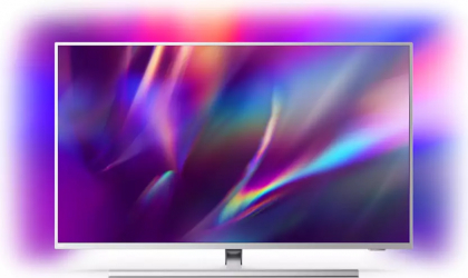 Televizor LED 108 cm Philips 43PUS854512 Performance Series Ultra HD 4K Android TV Argintiu Televizoare