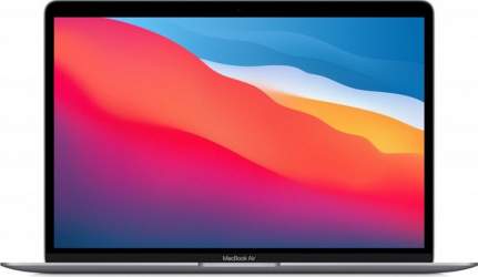 Apple MacBook Air 13 Apple M1 256GB SSD 8GB Apple M1 7-core GPU Retina macOS Touch ID US Space Gray Laptop laptopuri