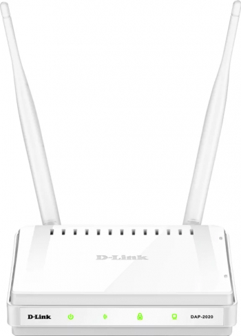 ACCESS POINT D-LINK wireless 300Mbps port 10/100Mbps 2 antene externe and  DAP-2020 and  include TV 1.5 lei