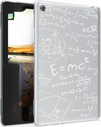 Husa pentru Huawei MediaPad M5 Lite Silicon Alb 46676.04