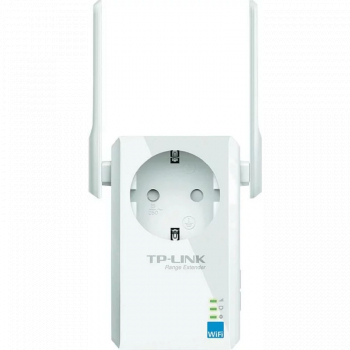 RANGE EXTENDER TP-LINK wireless 300mbps 1 port 10/100Mbps 2 antene externe 2.4GHz + extra priza and  TL-WA860RE and  include timbru