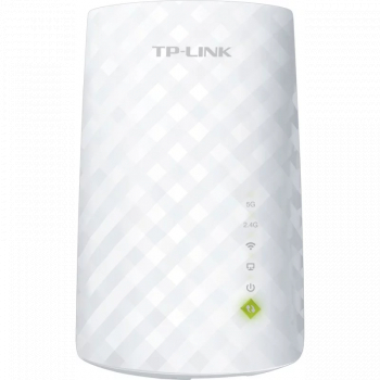 RANGE EXTENDER TP-LINK wireless 750Mbps 1 port 10/100Mbps 3 antene interne dual band AC750 2.4GHz and and and 5GHz and  RE200 and