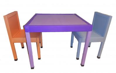 Set masa si 2 scaune Accesorii camera copil