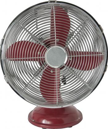 Ventilator retro de birou metal 40W 3 viteze