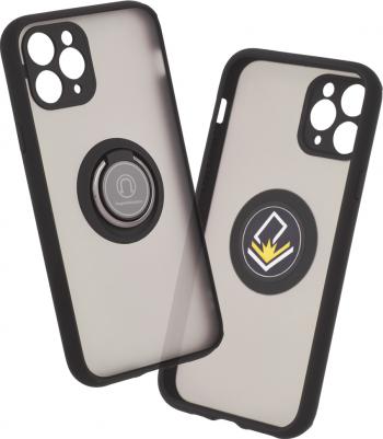 Husa protectie Glinth Series pentru iPhone 11 Pro Negru Huse Telefoane