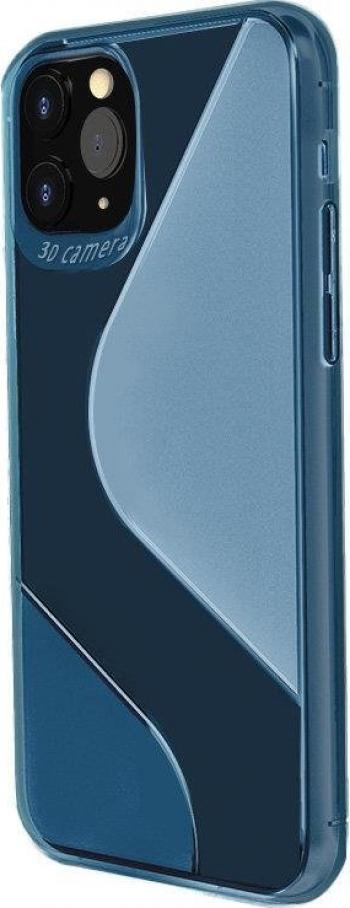 Husa de protectie S-Case Huawei P Smart 2020 Albastru Huse Telefoane