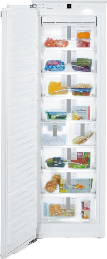 Congelator incorporabil Liebherr Premium SIGN 3576 216 L Clasa F FrostSafe IceMaker NoFrost Alb Lazi si congelatoare