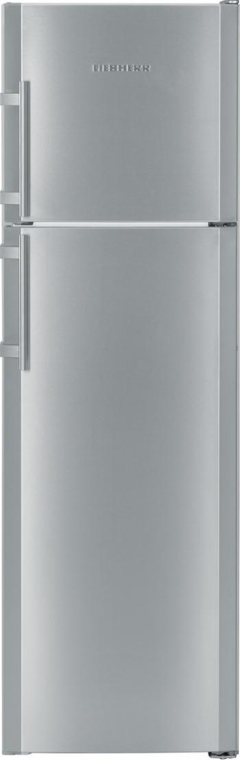 Frigider cu 2 usi Liebherr Premium CTNesf 3663 310 L Clasa F DuoCooling FrontInox Congelator NoFrost Frigidere Combine Frigorifice