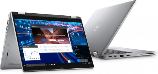 Laptop 2in1 Dell Latitude 5320 Intel Core (11th gen) i5-1135G7 256GB SSD 8GB Intel Iris XE FullHD Touch Win10 Pro T.Ilum. Gri Laptop laptopuri