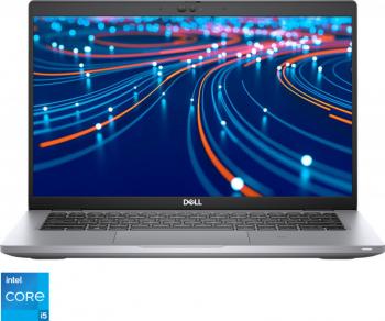 Laptop Dell Latitude 5420 Intel Core (11th Gen) i5-1135G7 256GB SSD 8GB Iris Xe FullHD Win10 Pro Tast. ilum. Gri Laptop laptopuri