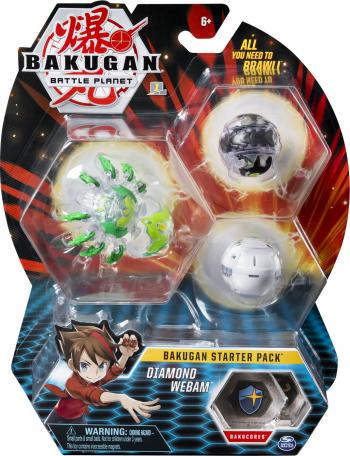 Bakugan Pachet Start Diamond Webam Jucarii