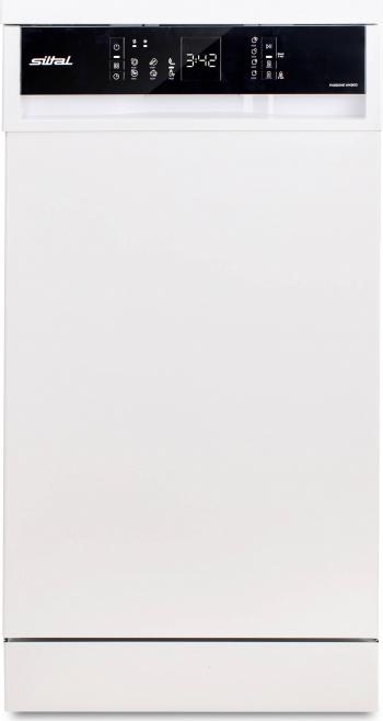 Masina de spalat vase Siltal Passione WK9610 10 seturi Clasa E 6 programe 45 cm Alb