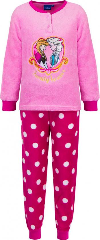 Pijamale lungi Frozen HS7186 culoare Roz 5 ani Pijamale