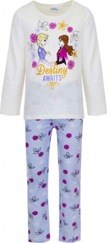 Pijamale lungi Frozen TH2048 culoare Alb 8 ani Pijamale