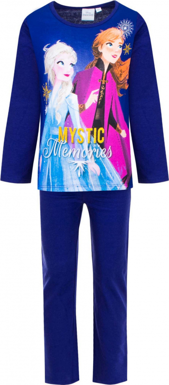 Pijamale lungi TH2048 Frozen culoare Blumarin 4 ani Pijamale