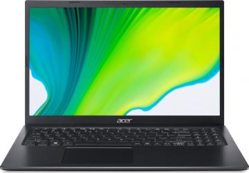 Laptop Acer Aspire 5 A515-56 Intel Core (11th Gen) i5-1135G7 512GB SSD 16GB Intel Iris Xe FullHD Tastatura iluminata Charcoal Black Laptop laptopuri