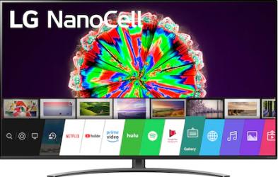 Televizor LED 164 cm LG 65NANO813NA 4K UltraHD Smart TV