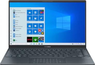 Ultrabook ASUS ZenBook 14 UM425IA AMD Ryzen 5 4500U 512GB SSD 8GB Radeon Graphics FullHD Win10 Pro Tast. ilum. Pine Grey Laptop laptopuri