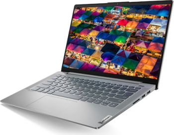 Ultrabook Lenovo IdeaPad 5 14IIL05 Intel Core (10th Gen) i5-1035G1 256GB SSD 16GB FullHD Tast. ilum. Platinum Grey