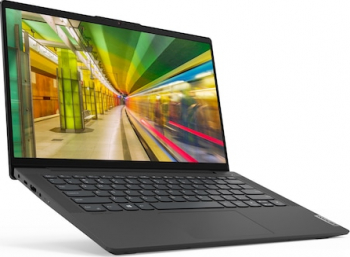 Ultrabook Lenovo IdeaPad 5 14IIL05 Intel Core (10th Gen) i7-1065G7 1TB SSD 16GB NVIDIA GeForce MX350 2GB FullHD Tast. il. FPR Graphite Grey Laptop laptopuri