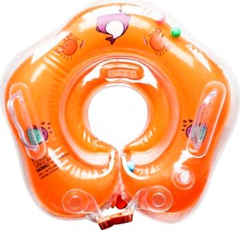 Colac de Inot pentru Bebelusi 0-24 luni Portocaliu Corturi si jucarii de exterior