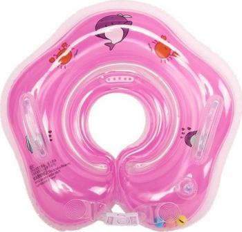 Colac de Inot pentru Bebelusi 0-24 luni Roz Corturi si jucarii de exterior