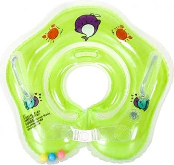Colac de Inot pentru Bebelusi 0-24 luni Verde Corturi si jucarii de exterior