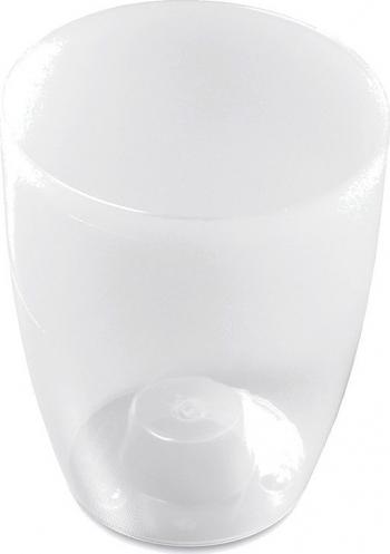 Masca ghiveci orhidee rotunda plastic gri D 13 cm Ghivece si suporturi