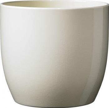 Masca ghiveci rotunda ceramica crem D 13 cm Ghivece si suporturi