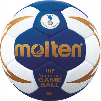 Minge de handbal Molten H2X5000 IHF Official Game Ball marime 2 aprobata IHF