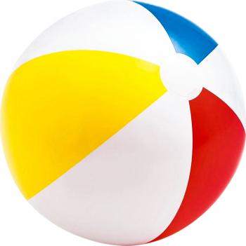 Minge Plaja Copii Intex Diametru 51 cm Multicolor Jucarii Interactive