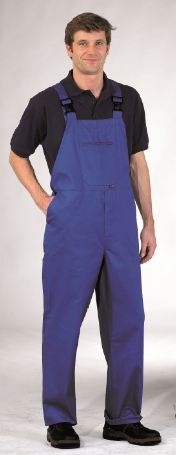 Pantaloni cu Pieptar Burnley Regular Albastru Royal L