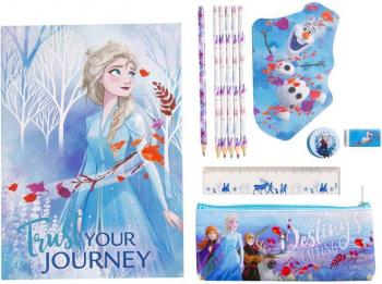 Set papetarie Disney Frozen II Multicolor 10 piese Articole si accesorii birou