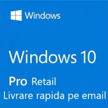 Windows 10 Pro Retail licenta permanenta All languages Sisteme de operare