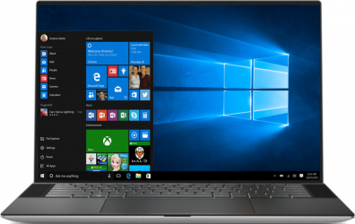 Laptop Dell XPS 15 9500 Intel Core (10th Gen) i9-10885H 2TB SSD 64GB NVIDIA Geforce GTX 1650TI 4GB UltraHD+ Touch Win10 Pro FPR T.Il. Silver Laptop laptopuri