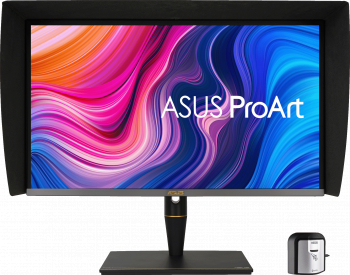 Monitor 27 inch Asus ProArt Display PA27UCX-K 4K HDR IPS Mini LED Professional HDR10 Dolby Vision Negru Monitoare LCD LED