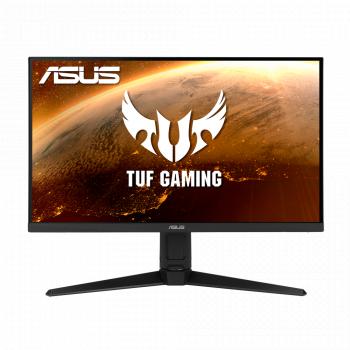 Monitor Gaming LED 27 inch ASUS TUF VG279QL1A WLED IPS HDR Full HD 165Hz 1ms Display Port HDMI FreeSync Premium Black Monitoare LCD LED