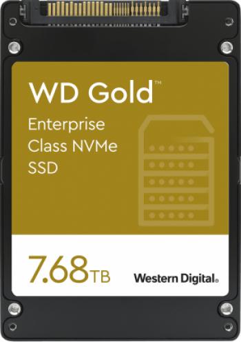 SSD Server Western Digital Gold Enterprise 7.68TB PCI Express 3.1 x4 2.5inch