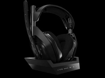 Casti gaming Astro A50 Playstation 4 si PC Negru Casti Gaming