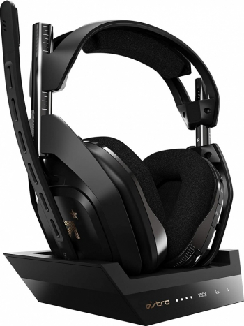 Casti gaming Astro A50 Xbox One si PC Negru Casti Gaming