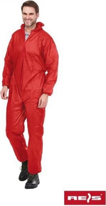 Combinezon de protectie KOM rosu XL Articole protectia muncii