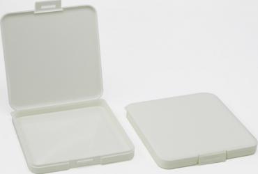 Cutie pentru pastrare masca de protectie chirurgicala sau kn95 capacitate 2-3 masti culoare alba