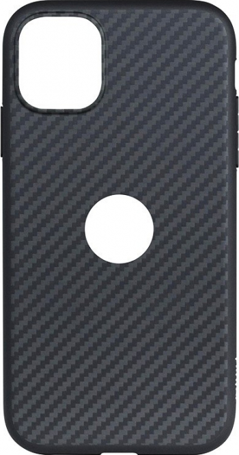 Husa Slim Upzz Carbon Fiber Compatibila Cu Iphone 11 Pro Negru Huse Telefoane