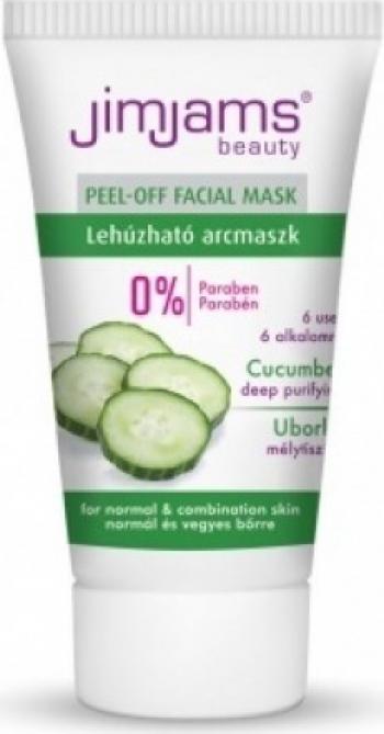Masca exfolianta cu extract de castravete 30ml JimJams Tratamente, serumuri