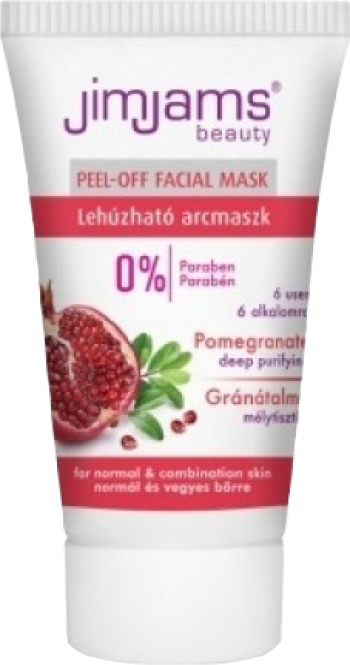 Masca exfolianta cu extract de rodie 30ml JimJams Tratamente, serumuri
